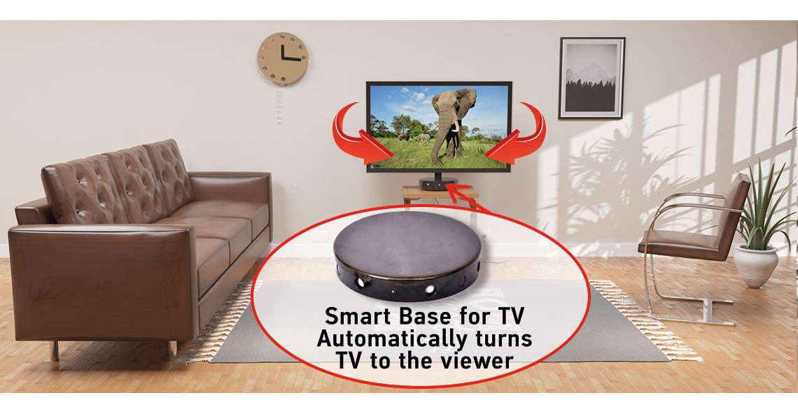 The Smart Base for TV means additional comfort and freedom. It's a great gift for everyone!